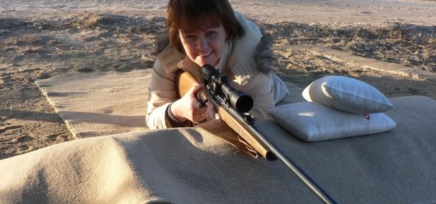Shooting Range Supervised at Wildspan Hunting